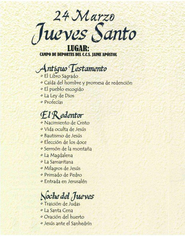 Misterio pasión - San Jaume (3)