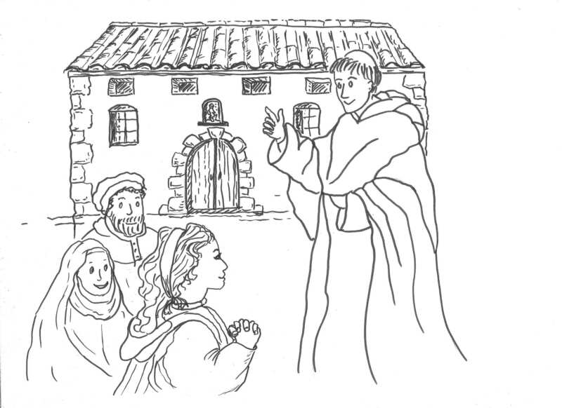 Inés de Moncada y Vicent Ferrer