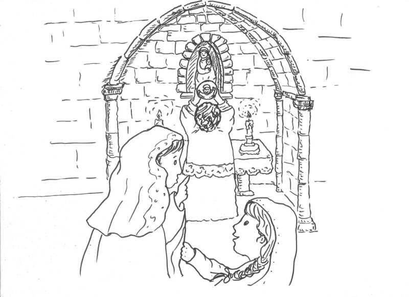 Milagro Eucarístico de la Venerable Inés